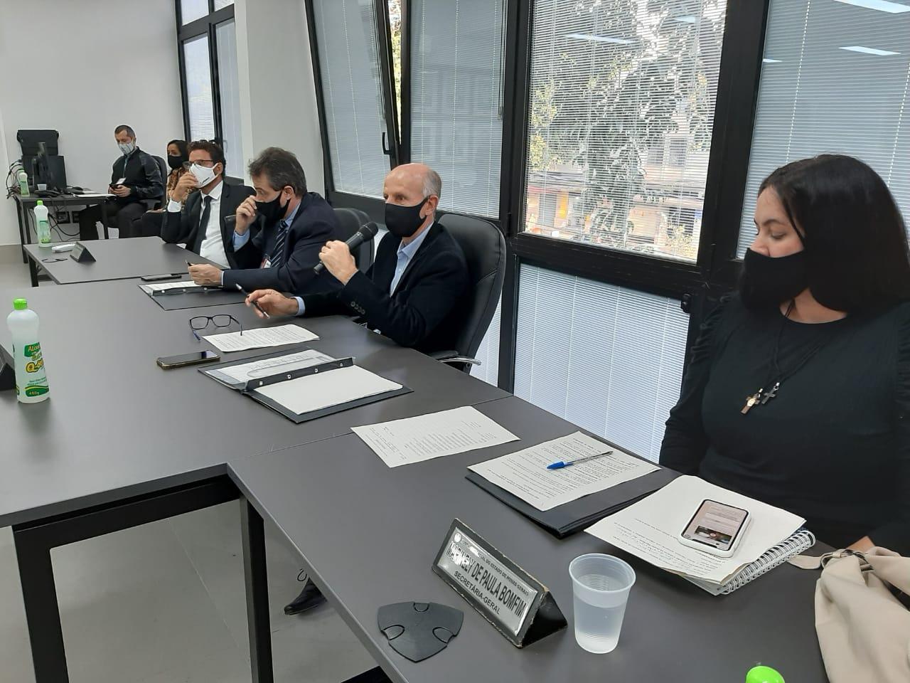 Jucemg realiza a primeira Sessão Ordinária do Plenário no prédio da nova sede no Barro Preto
